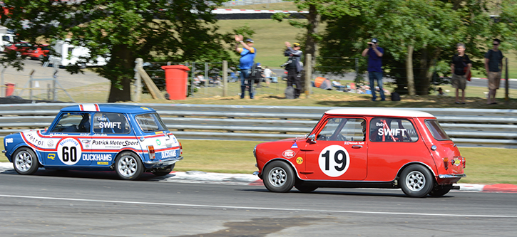 Three generations of Swift take to the track in Swiftune 50 Anniversary race