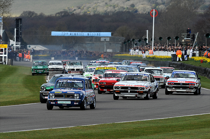 Minis shine in mighty David V Goliath battle at Goodwood 73rd Members meeting