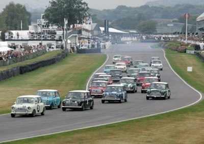Best ever historic Mini race Revival 2009