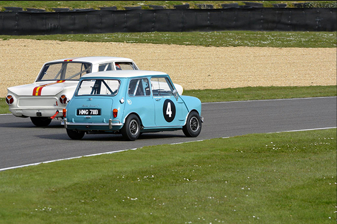 Legends partner Swiftune Mini's at Goodwood Revival