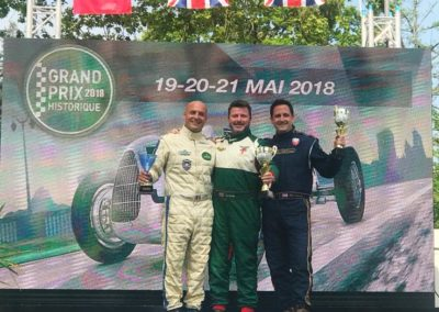 Pau Historic Grand Prix, top three Swiftune powered